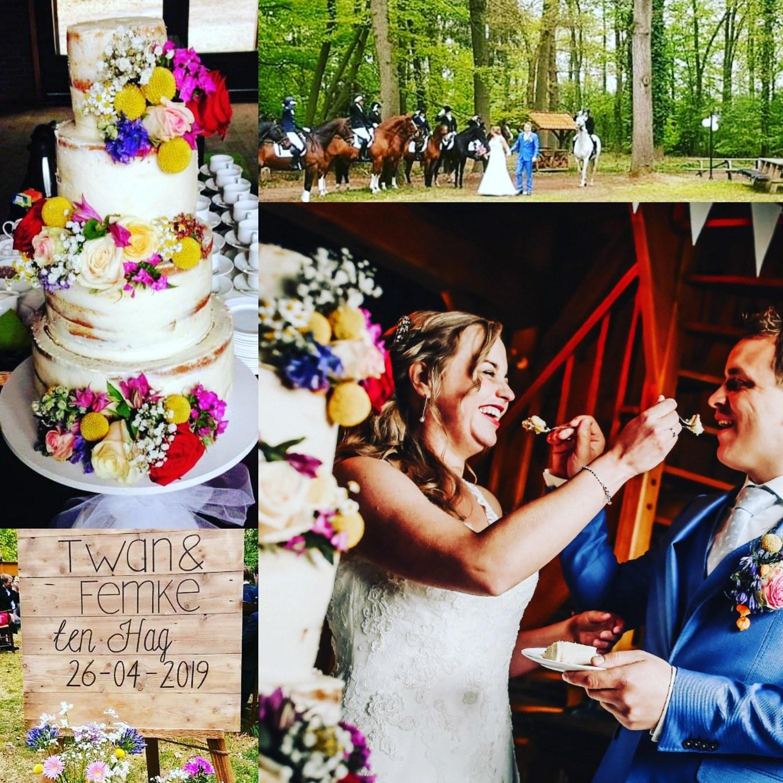 Taarten Voor Een Bruiloft Taart Van Jet